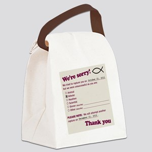 jesusfishdrk Canvas Lunch Bag